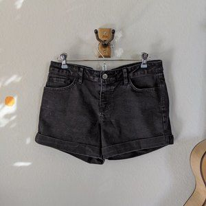 Black Vans Jean Shorts